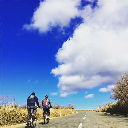 cycling in izu